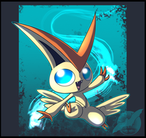 Victini Line Practice by shorty-antics-27
