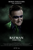 Robin Williams Riddler by Elmic-Toboo