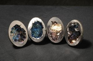 Bismuth Eggs from Bismuthguy.com by Bismuthguy