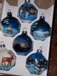 painted ornaments by notOK