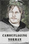 Norman Reedus - [ Camouflaging Norman ] by argentamlf