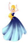 Celeste Ball Gown-Waiting4Moonshine (REQUEST nr.1) by Woogyuxi