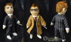 Doctor Who - tenth doctor - handmade doll by LauraPex