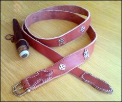 Belt with studs by Noctiped