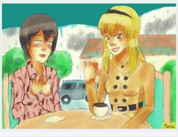 The First Date by arctic-sunsett