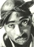 2pac by maddrawings