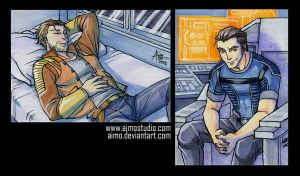 PSC - Carth and Kaidan by aimo
