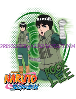 Rock Lee shirt design by PrincessKilvas
