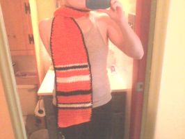 School Spirit Scarf Finished by Psychodelicon