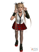 DOA5 Marie Rose Costume 06 School Uniform by rolance