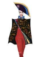 fashion design by phungvulienphuong