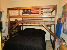 Loft Bed by Lupas-Deva