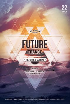 Future Trance Flyer by styleWish
