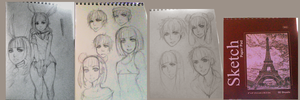 Sketchbook+pages by Koichi-Sama