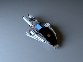 LEGO Ship by outdated-hardware