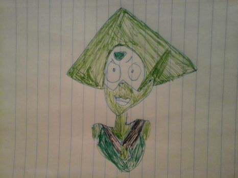 poorly drawn peridot  by potatotree75