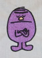 Embroidered Mr Stubborn by NeitherSparky