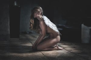 Lost my wings in the process by Rnadalphotography