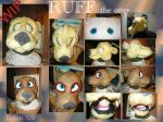 Ruff otter fursuit WIP+videos by Grion