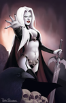Lady Death by Rachel-Perciphone