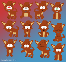 South Park: A Bunch of Kelsey Expressions by KelseyEdward