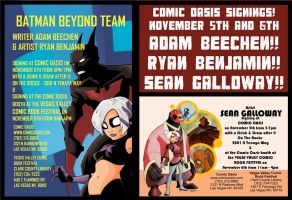 Batman Beyond-Cheeks Signing by KidNotorious