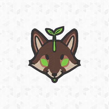 Patches: MilkkSprout Fursona Face by elysiagriffin