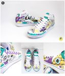 Eat the Sun Sneaker by Bobsmade