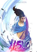 Yasuo The Unforgiven - Movie Poster by VermilionFly