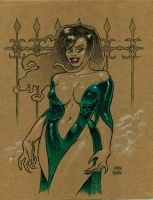 Vamp Lady by MarkMoore