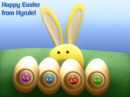 Happy Easter from Hyrule! by BLUEamnesiac