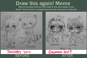 Yay - Chibi evolution by Ayuki-Shura-Nyan