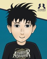 Amdes Cartoon by dicky10official