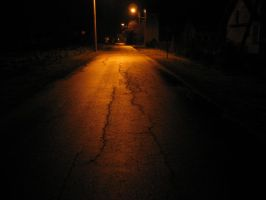 Dark, empty and scary street by Randal01