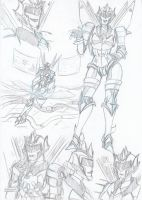 Aqua Sketches by Star10