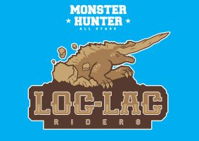 Monster Hunter All Stars - The Loc-Lac Riders by BleacheD-InK