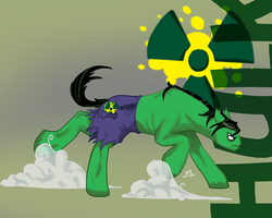 Ponified Avengers: Hulk Single by Creepy99