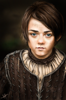 Arya by laracremon