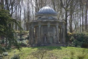 DSC00372 Temple of Apollo, Stourhead Gardens by VIRGOLINEDANCER1