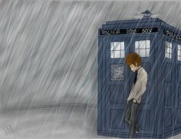 Danisnotonfire: The Doctor and his Tardis by amijusttumblinalone