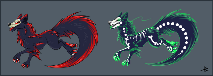 Demonic dogs - adopts [CLOSED] by giantdragon