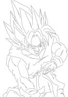 Goku: Ki Blast by darkhawk5