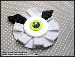 Eyeball Rosette by GrandmaThunderpants