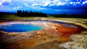 Hot Springs, Yellowstone National Park by Justjill9