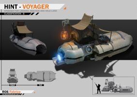 Concept Vehicule HINT - VOYAGER by ROS-Fabrice