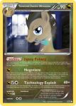 Timelord Doctor Whooves Pokemon card by The-Ketchi