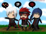 +typical mission- DGM+ by Evil-usagi