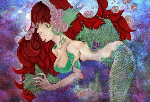 Mermaid's Solace by paitucker