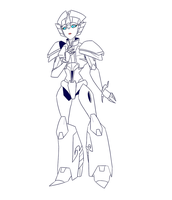 .:RID2015 - Windblade - before transformation:. by JACKSPICERCHASE