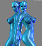 Liara Twins For Michael by Philip Messina by Mickytroisd